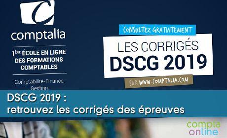 DSCG 2019 : retrouvez les corrigés des épreuves