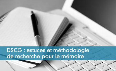 Astuces et méthodologie de recherche pour le mémoire