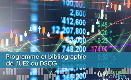 Programme et bibliographie de l'UE2 du DSCG