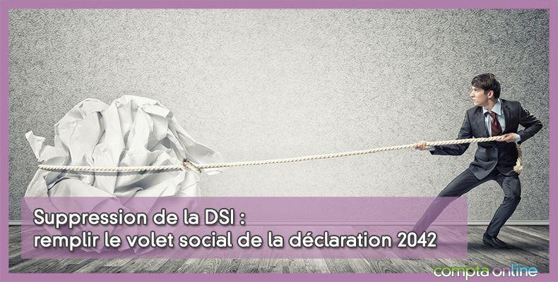 Suppression de la DSI