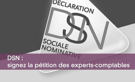 DSN : signez la pétition des experts-comptables