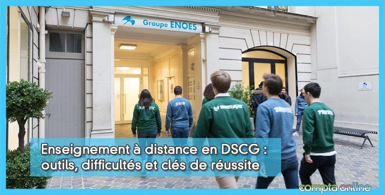 Enseignement à distance en DSCG