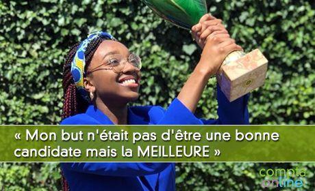 Alexane Chokoté : « Mon but n'était pas d'être une bonne candidate mais la MEILLEURE »