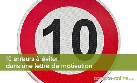 10 erreurs à éviter dans une lettre de motivation