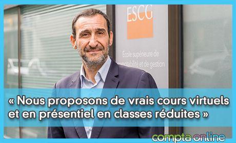 « Nous proposons de vrais cours virtuels et en présentiel en classes réduites »