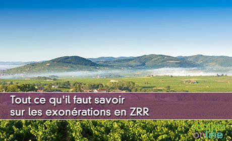 Exonérations ZRR