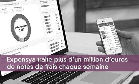 Expensya lève un million d'euros pour accélérer le traitement intelligent des frais professionnels