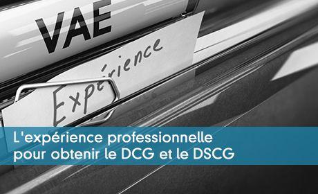 La validation des acquis de l'expérience ou VAE en DCG et DSCG