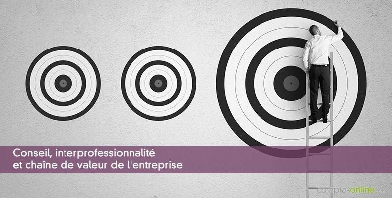 Conseil, interprofessionnalité et chaîne de valeur de l'entreprise