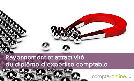 Rayonnement et attractivité du diplôme d'expertise comptable