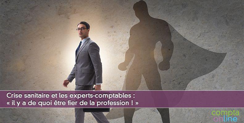 Crise sanitaire et les experts-comptables : « il y a de quoi être fier de la profession ! »
