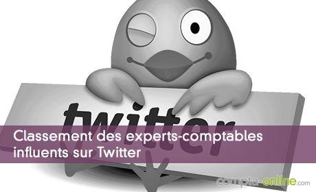 Classement des experts-comptables influents sur Twitter