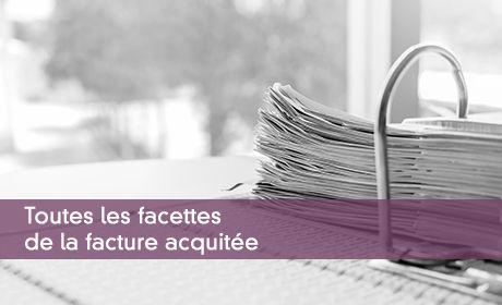 Facture acquitt�e