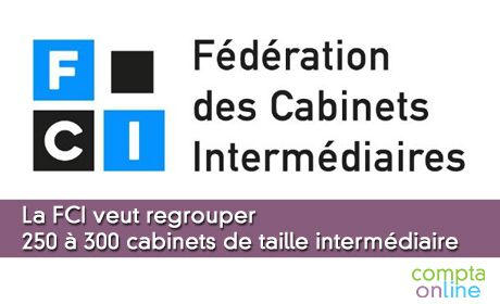 La FCI veut regrouper 250 à 300 cabinets de taille intermédiaire