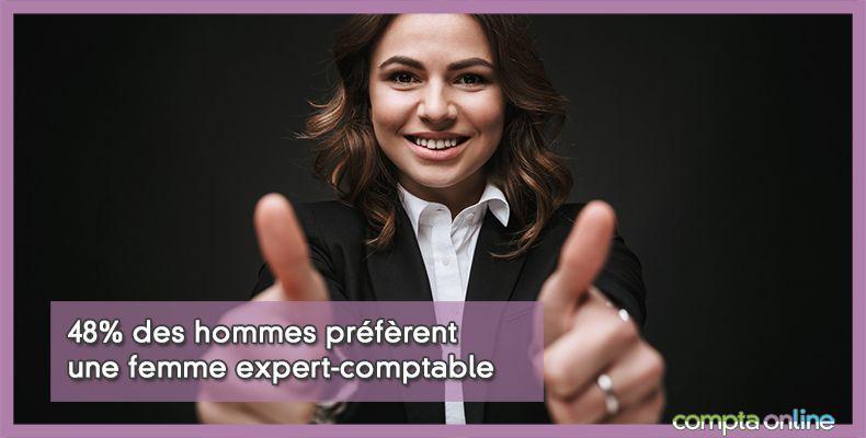 Femme expert-comptable