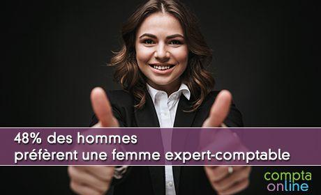 48% des hommes préfèrent une femme expert-comptable