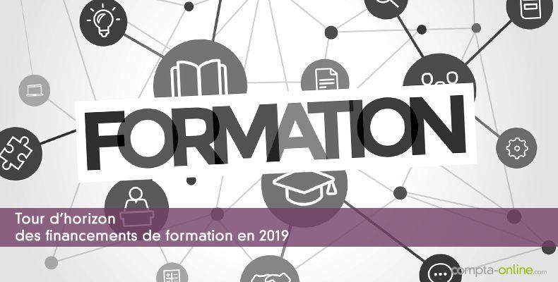 Tour d'horizon des financements de formation en 2019