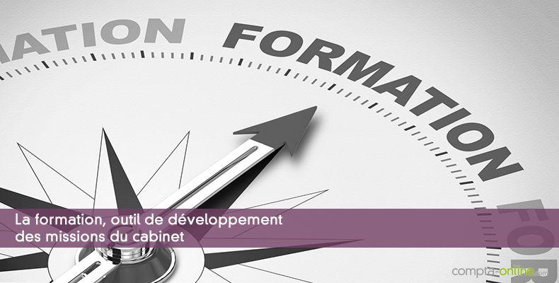 La formation, outil de développement des missions du cabinet