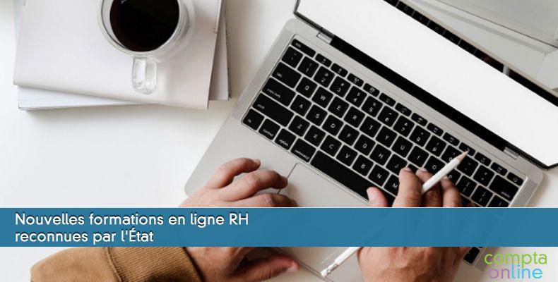 Nouvelles formations en ligne RH reconnues par l'État