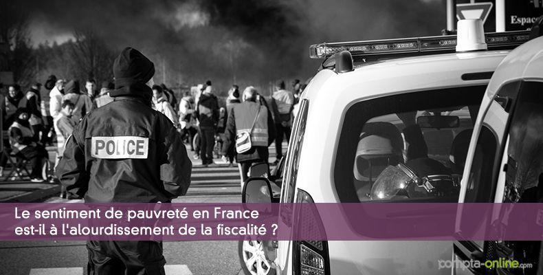 Le sentiment de pauvreté en France est-il à l'alourdissement de la fiscalité ?
