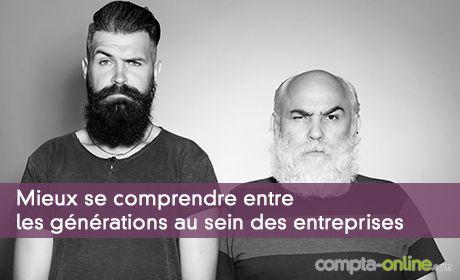 Meiux se comprendre entre les générations au sein des entreprises