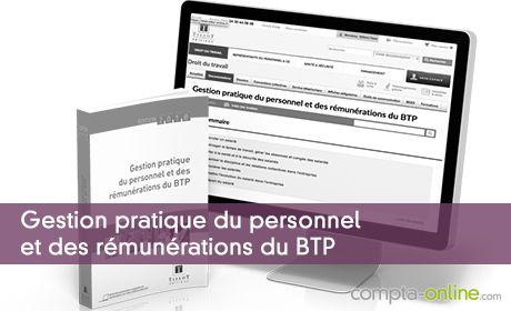 Gestion pratique du personnel et des rémunérations du BTP