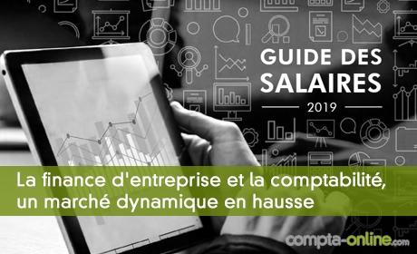 [Rémunération] La finance d'entreprise et la comptabilité, un marché dynamique en hausse
