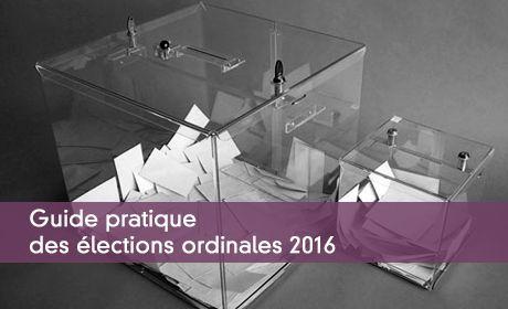 Guide pratique des élections ordinales 2016