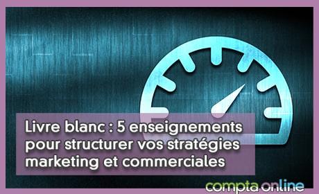 Livre blanc : 5 enseignements pour structurer vos stratégies marketing et commerciales