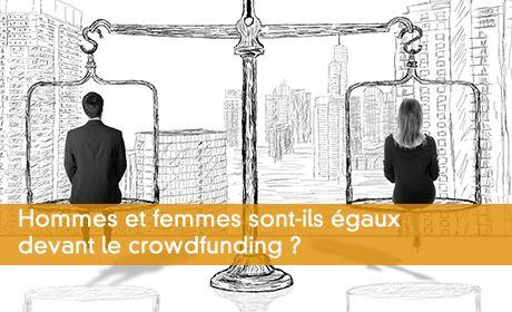 Hommes et femmes sont-ils égaux devant le crowdfunding ?