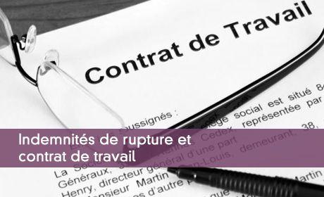Indemnites De Rupture Exonerations De Cotisations Sociales Et Csg