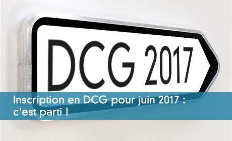 Inscription DCG 2017