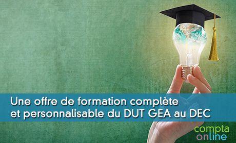 Une offre de formation complète et personnalisable du DUT GEA au DEC
