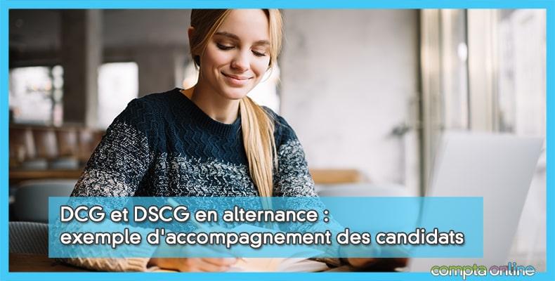 DCG et DSCG en alternance : exemple d'accompagnement des candidats