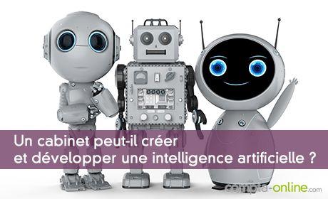 Un cabinet peut-il créer et développer une intelligence artificielle ?
