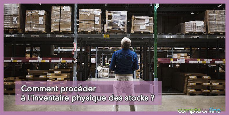 Inventaire stock