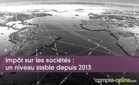 Impôt sur les sociétés dans le monde :  un niveau stable depuis 2013