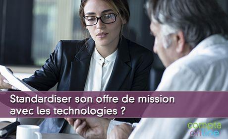 Standardiser son offre de mission avec les technologies ?