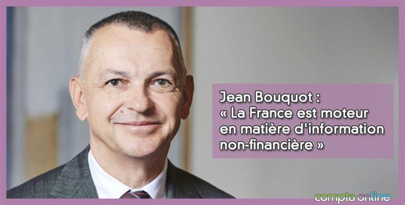 « La France est moteur en matière d'information non-financière »