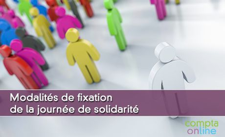 Modalités de fixation de la journée de solidarité