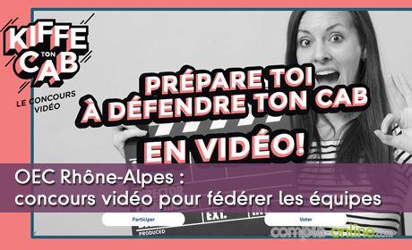 OEC Rhône-Alpes : concours vidéo pour fédérer les équipes