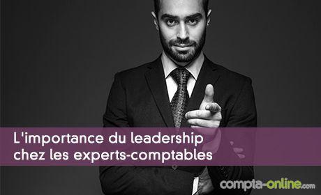 L'importance du leadership chez les experts-comptables