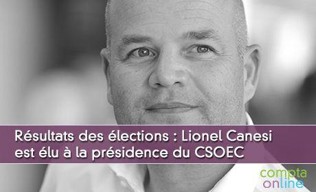 Résultats des élections au CSOEC : xxx est élu à la présidence de l'ordre