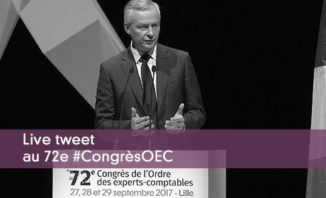 Live tweet au 72 #CongrèsOEC