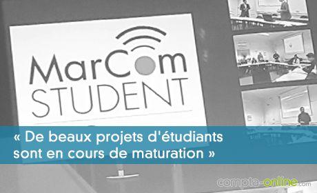 « De beaux projets d'étudiants sont en cours de maturation »