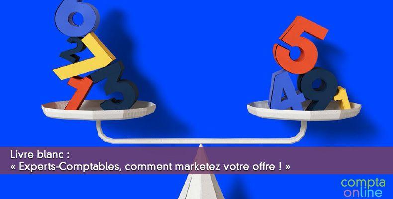 Livre blanc : « Experts-Comptables : marketez votre offre »