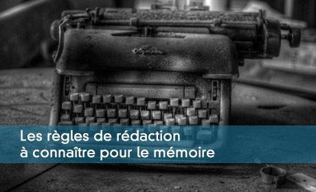 DEC : respecter les règles de forme pour rédiger le mémoire