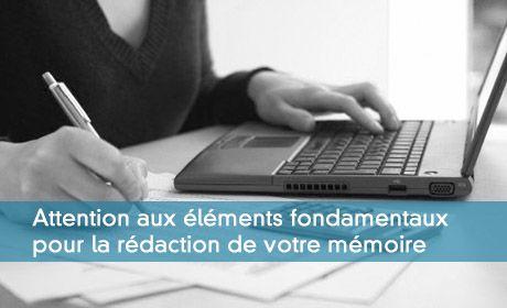 Mémoire du DEC : Trois documents à lire absolument