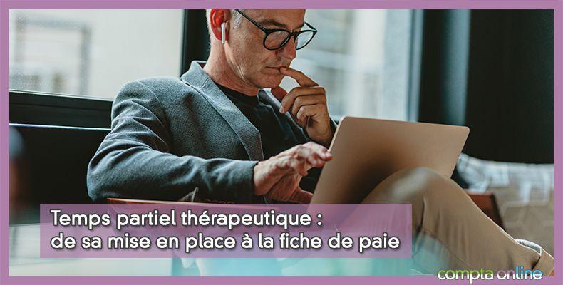 Mi-temps thérapeutique