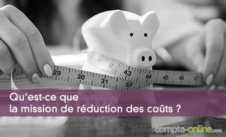 Mission de l'expert-comptable : la réduction des coûts